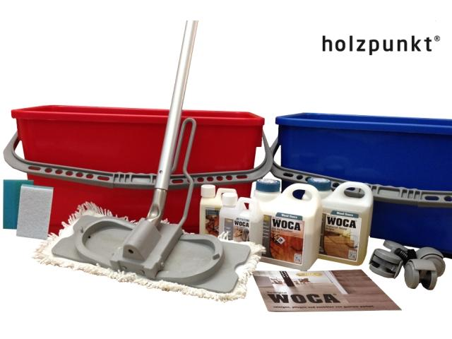 All-in-One Wood Floor Care Set